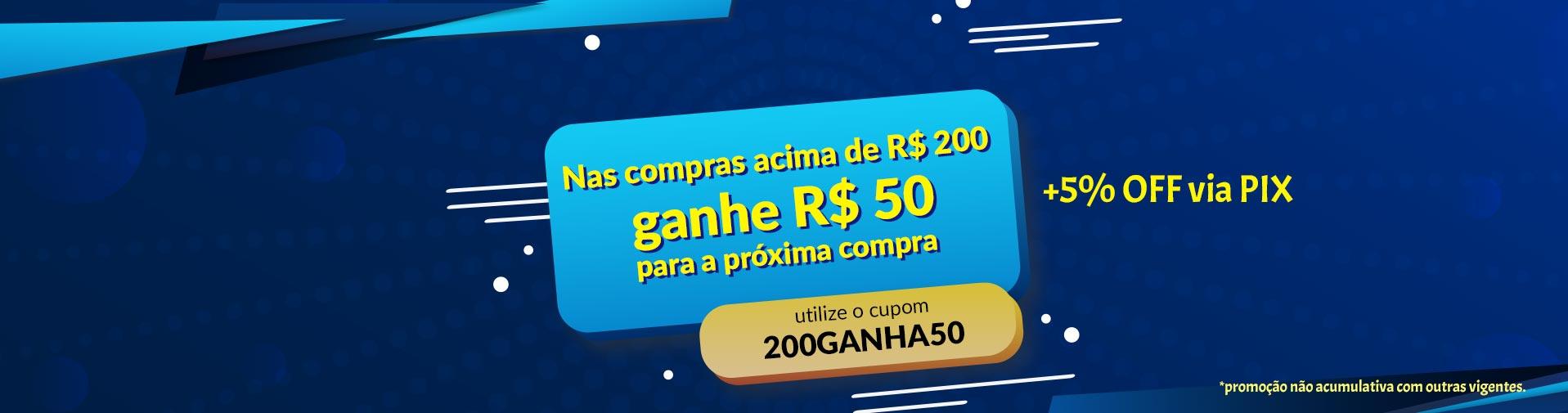 200 ganha 50